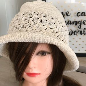 Cream Boho Hat